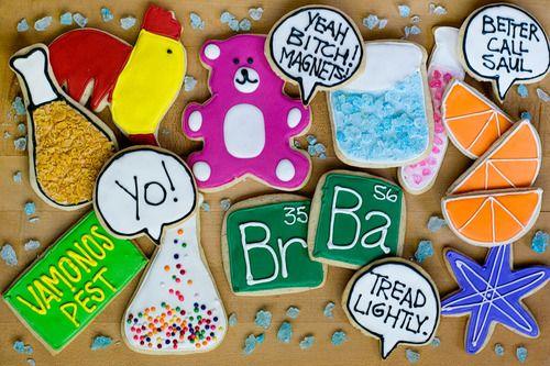 breaking bad cookies.