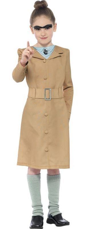 Roald Dahl Miss Trunchbull Costume. World Book Day kids fancy dress costume www.partypacks.co.uk