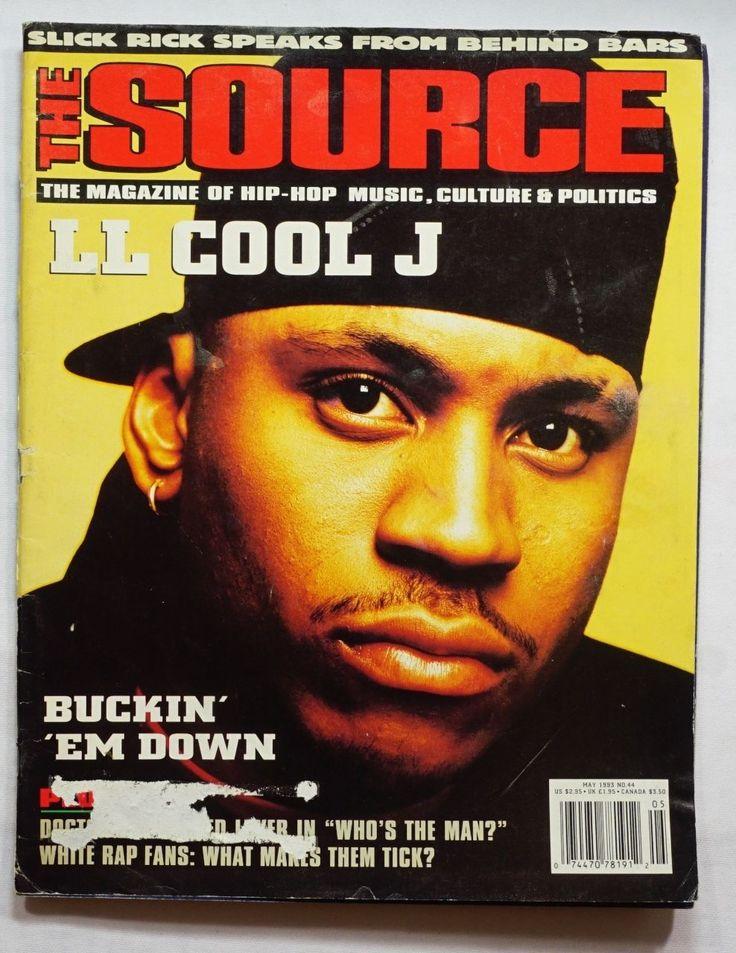 Ll Cool J The Source Magazine May 1993 Chris Rock RARE Hip Hop History | eBay