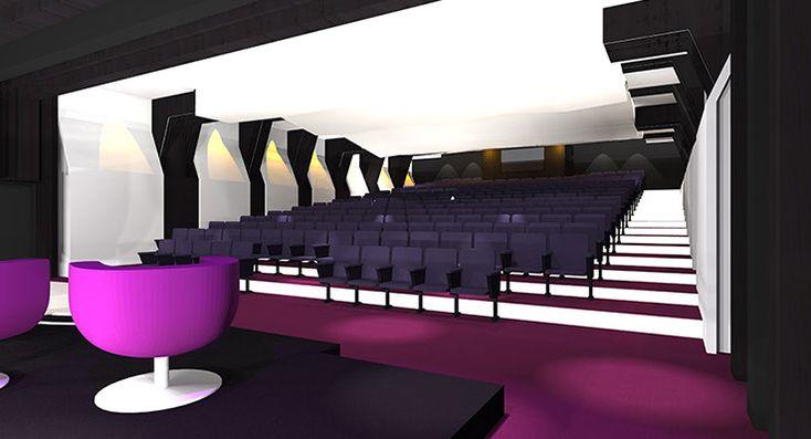 Centre de congrès et réunions Caisse d'Epargne Lorraine Champagne Ardennes à METZ - ARCHITECTURE CONCEPT