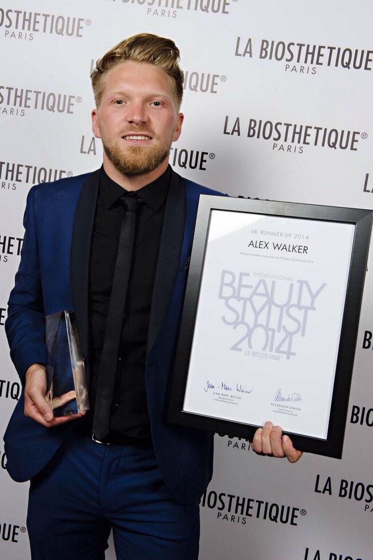 La Biosthetique, beauty stylist awards presentation, runner up