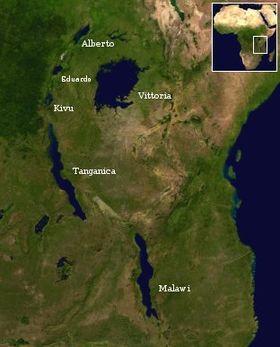 Grandes Lagos de África - Wikipedia, la enciclopedia libre