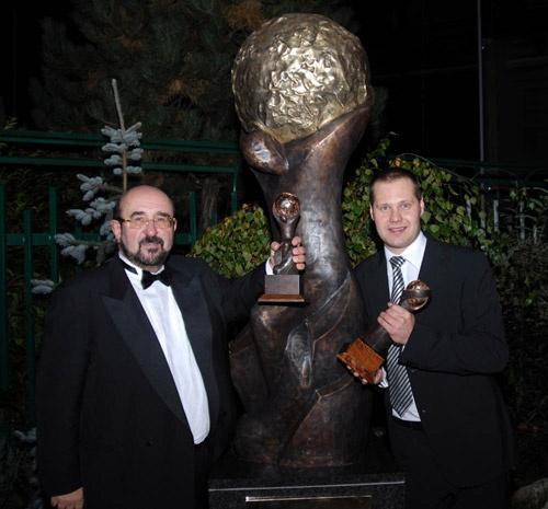 Giant World Travel Awards Trophy
