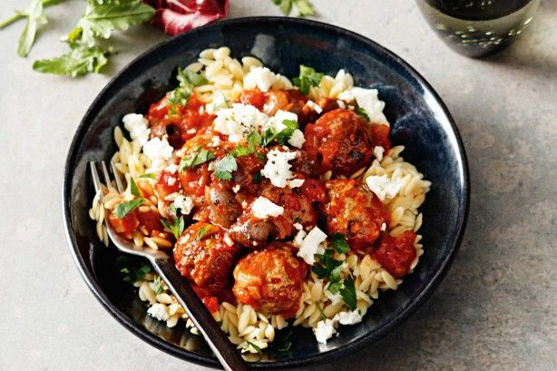 A meal using everyday ingredients in a new and inspired way - meatballs are a guaranteed family pleaser.