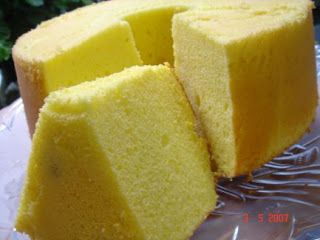 Year of the Durian: Recipe: Durian Chiffon Cake