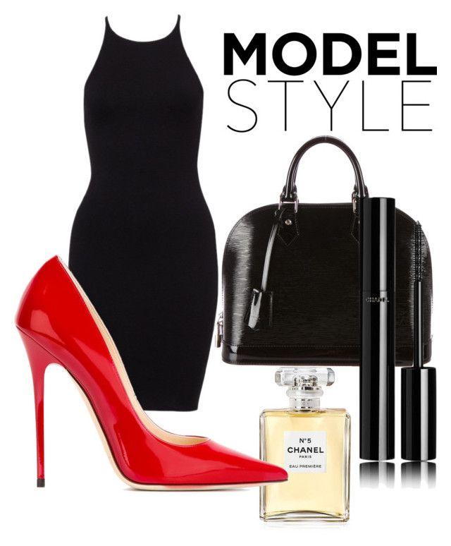 """""""Style Boss"""" by love-eve13 on Polyvore featuring Louis Vuitton, Chanel and Jimmy Choo"""