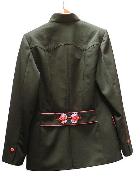 Cubryna - parzenice -soutache folk application by Sutasz-Anka http://www.soutage.com/2015/08/cubryna-aplikacje.html  #parzenice #ślub #wedding #pannamłoda #czerwony #ludowe #folk #koral #coral #onyks #onyx #polish #jacket