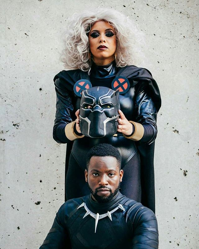 Reposting @soulciald_ent: Cosplay Spotlight: Black Panther x Storm ⠀⠀⠀⠀⠀⠀⠀⠀⠀ #28DaysofBlackCosplay  #Cosplay #cosplayer #Cosplaying  #photography #Soulcialdreamers #blerds  #SoulcialDreaminEnt #Nerds #blacknerds #Storm #Xmen #BlackGirlMagic #Blavity  #cosplayingwhileblack #marvel #blackpanther #shuri #tchalla #wakanda #blackexcellence  #Costume