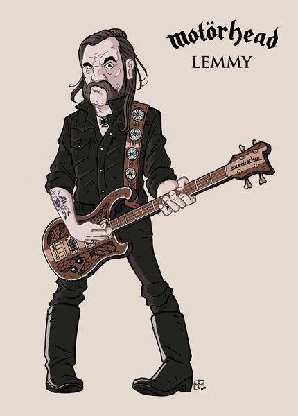 Lemmy Kilmister-Gone Too Soon.....................