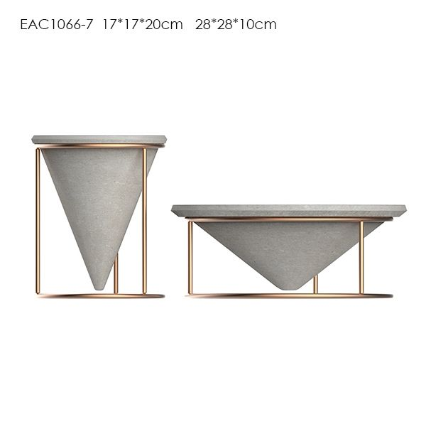 Check out this product on Alibaba.com App metal pot stand with concrete pot