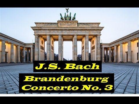 Brandenburg Concerto No 3 In G Major I Allegro Bwv 1048 J S