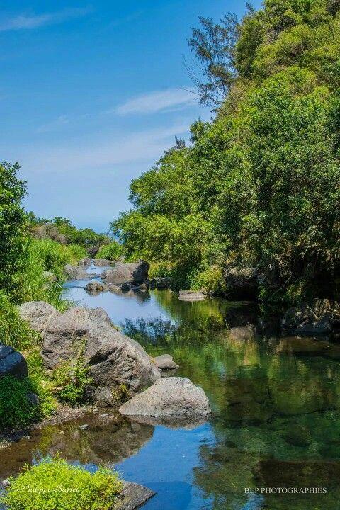 Riviere Langevin, Ile de la Réunion