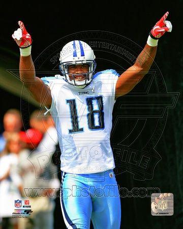 Tennessee Titans - Kenny Britt Photo