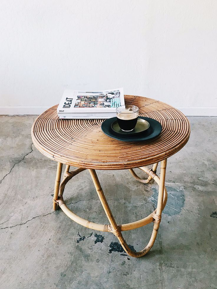 Bamboo Coffee Table / available at Super Marché