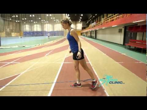 Eccentric hamstring strengthening exercise    Help prevent poor old runners knees with hamstring glutes training