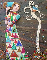 Serendipity by Tammy Durham, Polymer clay art photo by Tammy Durham
