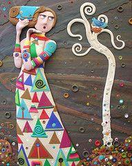 Serendipity by Tammy Durham, Polymer clay art photo by Tammy Durham