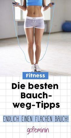 7 geniale Bauch-weg-Tipps: So klappt's mit dem flachen Bauch!