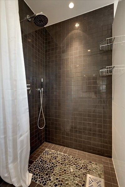 Best 25 brown shower curtains ideas on pinterest brown - Tiles for bathroom walls and floors ...