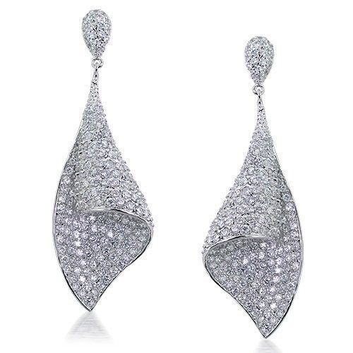 #ArtDeco Bridal Chandelier Earrings -- so so beautiful!