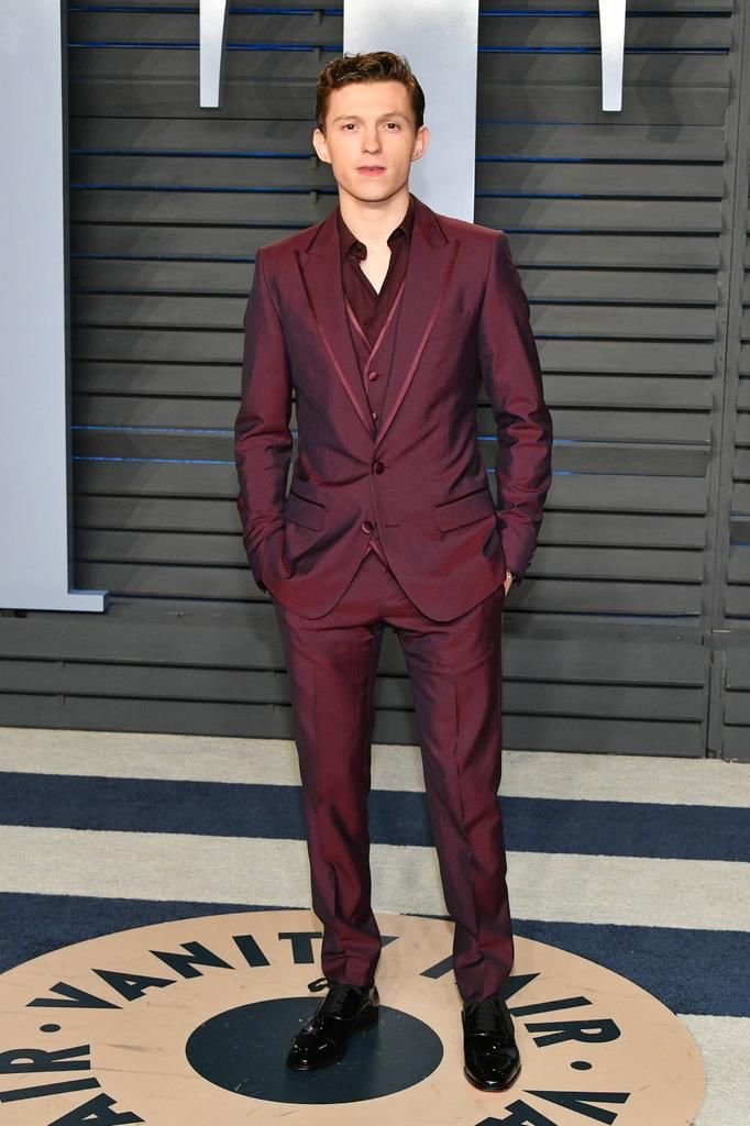 Tom Holland at the 2018 Vanity Fair Oscar Party in Beverly Hills, CA 3/4/2018