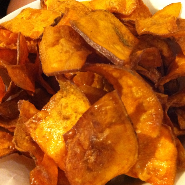 Kumara chips @four ate five
