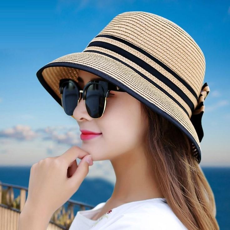 Fashion Summer Women's Beach Hats with choice of sayings – Cappelli all'uncinetto