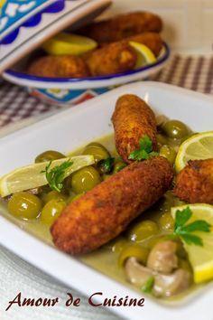 tajine zitoune aux croquettes de poulet 1
