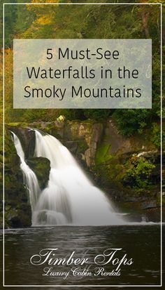 5 Gatlinburg Waterfalls That Will Make Your Gatlinburg Vacation Unforgettable http://www.yourcabin.com/blog/gatlinburg-waterfalls-that-make-gatlinburg-vacation-unforgettable/