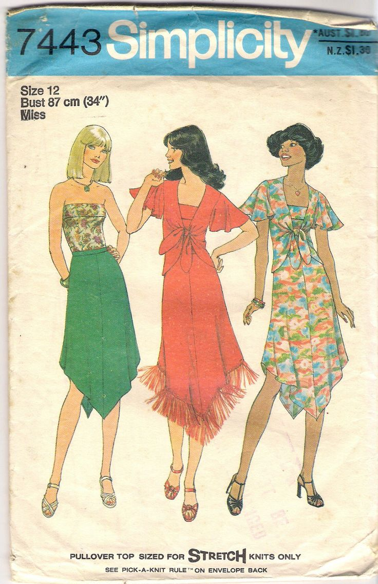 104 best 1970's Clothing Patterns - 153.6KB