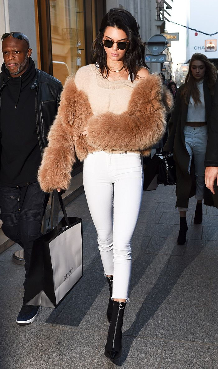 Find out how the most stylish celebs are wearing white this winter. We promise you'll love this look.