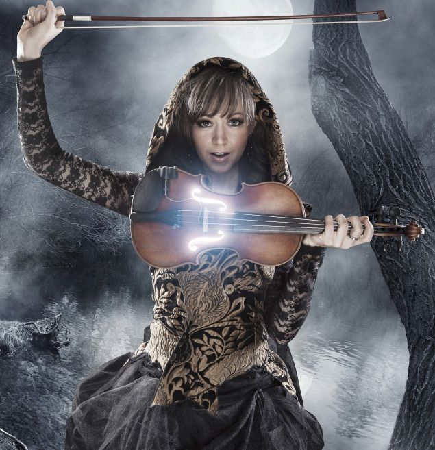Lindsey Stirling. Beautiful, strong, and creative. Her music speaks to me and seems like something out of a dream. I wish her the best in everything she does.