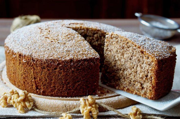 Torta Soffice alle Noci | 180°C di Dolcezza