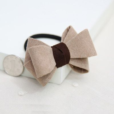 Elegant Bow Bowknot Rubber Bands for Girls Elastic Hair Bands for Kids Women Headwear Hair Accessories