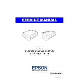 EPSON L110 L111 L210 L211 L300 L301 L350 L351 L355 L356 Service Manual