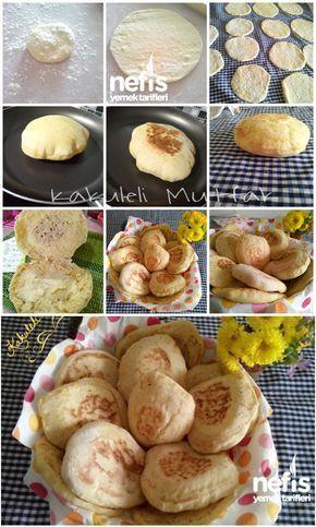 ✿ ❤ ♨ Tavada Mini Ekmek (Pita Ekmeği) Malzemeler: 1 şişe maden suyu, 1 su bardağı su, 1 yemek kaşığı pekmez, 1 yemek kaşığı sıvı yağ ( zeytinyağı) 1 tatlı kaşığı tuz, 1, 5 tatlı kaşığı kuru maya (instant maya veya yaş maya da olabilir) yaklaşık 5 su bardağı un ( un çeşitlerine göre miktar değişebilir)