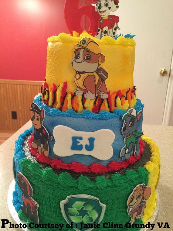 17 Best Ideas About Paw Patrol Cake Decorations On