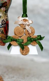 Masni Dekoráció: Parafadugó karácsonyfa / Cork christmas tree