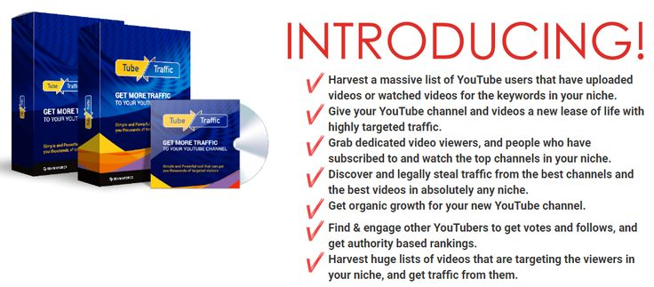 TubeTraffic Elite – The Most Powerful Youtube Traffic Software jcbspro.net/...