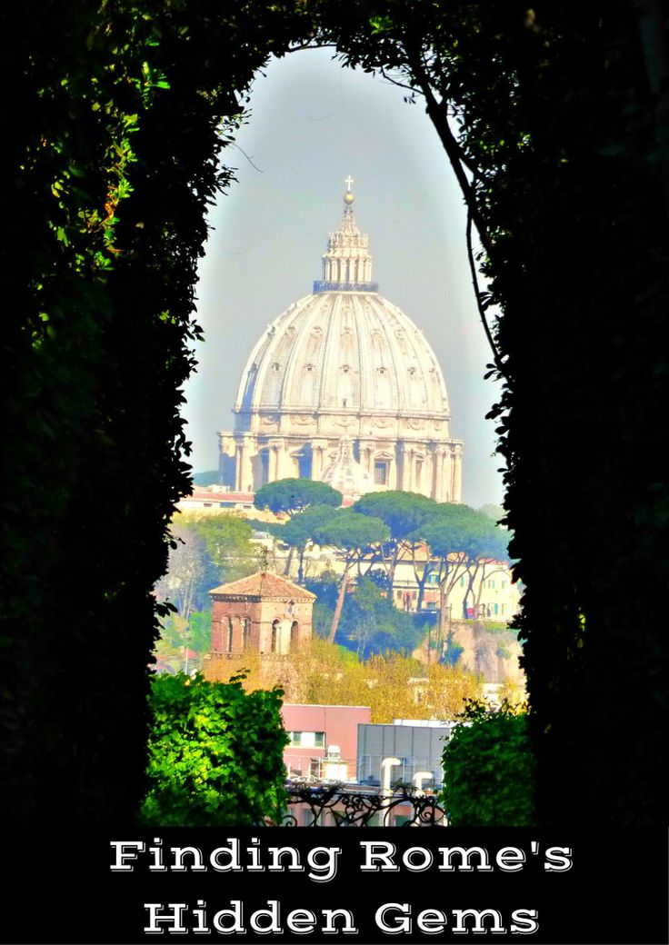 Finding Rome's Hidden Gems. Aqueducts, secret keyhole views, stroll on the…