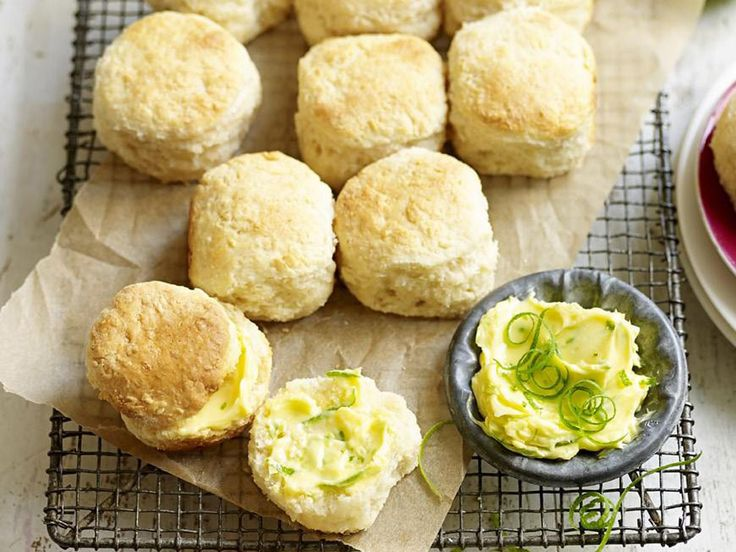 Coconut scones, coconut recipe, brought to you by Australian Women's Weekly