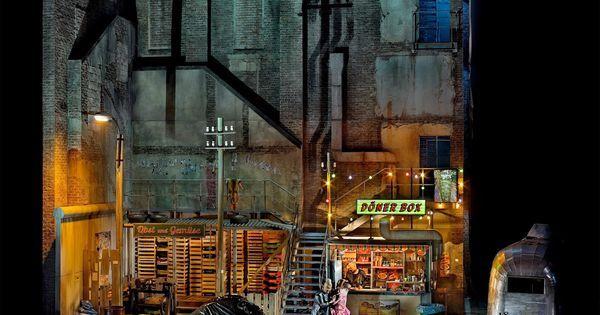 Götterdämmerung at t - Götterdämmerung at the Bayreuth Festival. Production by Frank Castorf. Sets by Aleksandar Denic. --- #Theaterkompass #Theater #Theatre #Schauspiel #Tanztheater #Ballett #Oper #Musiktheater #Bühnenbau #Bühnenbild #Scénographie #Bühne #Stage #Set