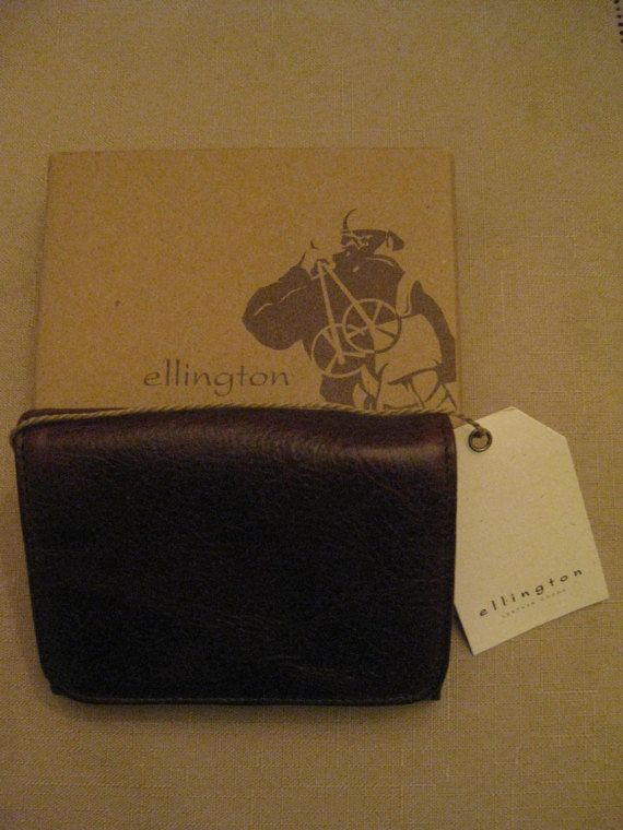 New Ellington Genuine Leather Mens Brown by vtseredipityboutique