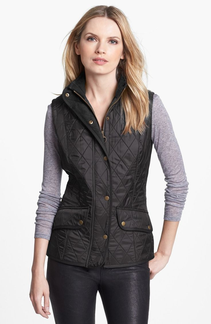Barbour 'Cavalry' Quilted Vest available at #Nordstrom