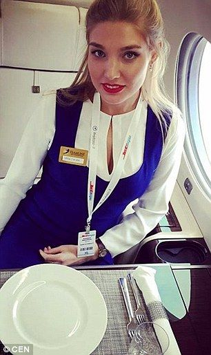 Anastasia works on small private jets with a lower number of passengers....