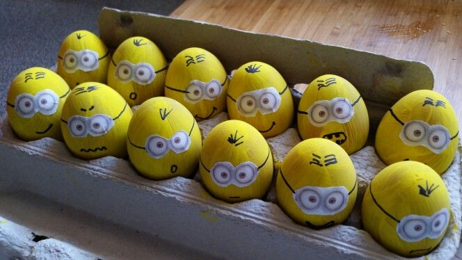 Minion party game - egg & spoon race                                                                                                                                                                                 More