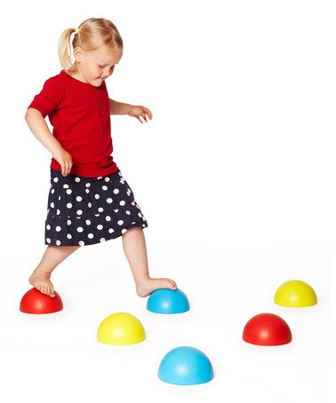 These, too. Balancing Plastic Hemispheres Set by Gonge on #zulily today!