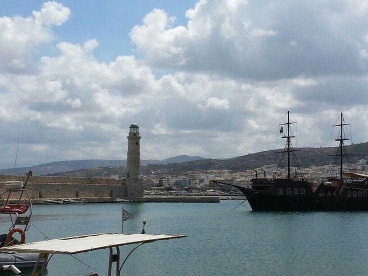 Oude haven Rethymnon