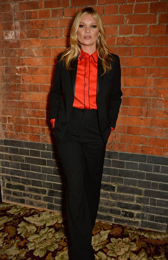 Kate Moss proves that her latest line for Equipment is to die for!