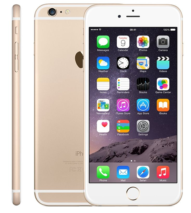 Apple iPhone 6 Plus 16GB Factory Unlocked GSM 4G LTE Smartphone, Gold (Certified Refurbished): Cell Phones & Accessories